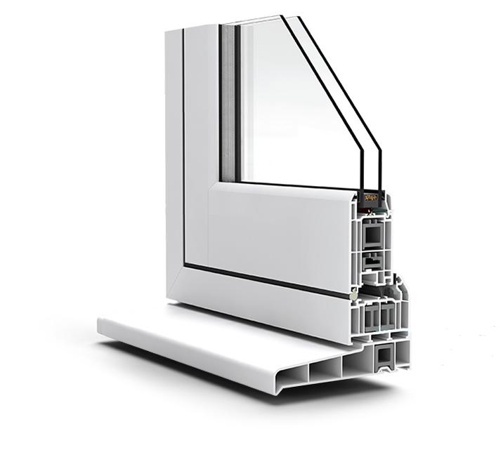 Flush Casement Window Profile